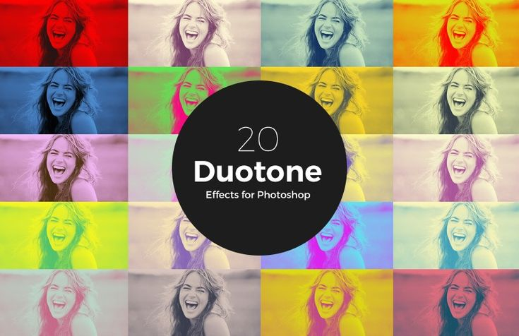 Duetone Photoshop Action Preview 1