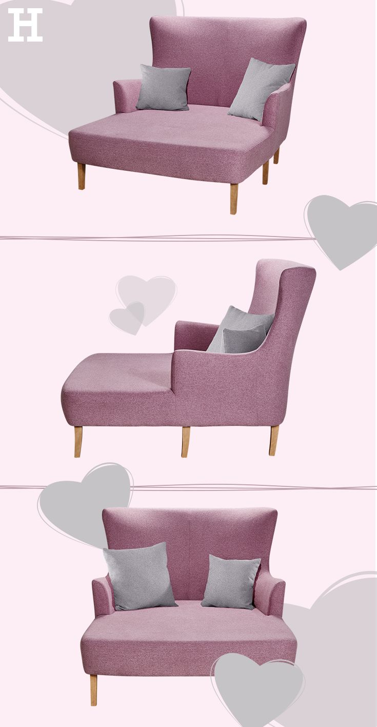 wonderful einfache dekoration und mobel das richtige geschenk fur den begeisterten bastler #1: Loveseat Elissa Auf dem Loveseat Elissa können Sie alleine relaxen oder zu  zweit kuscheln. Mit einer Breite von... günstig bei Möbel Höffner online  kaufen.