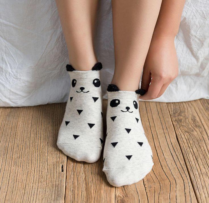 Excited to share the latest addition to my #etsy shop: 3 pairs unique animal women's socks panda socks animal socks cotton #clothing #socks #women #birthday #christmas #onesize #womenssocks #animalsocks #animalsock