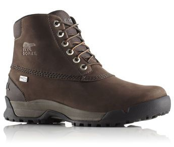 """Sorel Mens Paxson 6"""" Outdry Waterproof Leather Boot - Tobacco/Stout"""