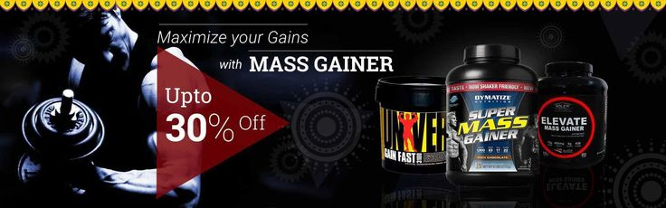 Buy best mass gainer supplement in India for weight gain at Healthgenie. Get discount upto 30% on weight gainer supplements, muscle gainer powder price.