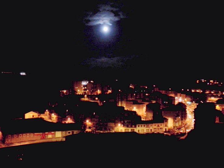 Luna llena en Bejar