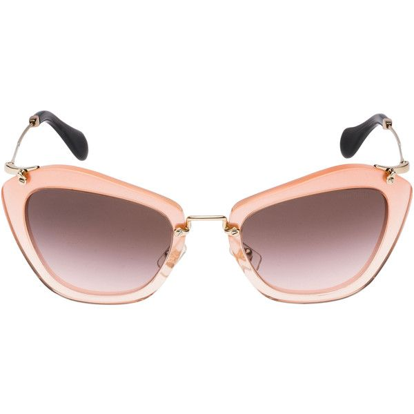 Miu Miu Knock Off Glitter Sunglasses