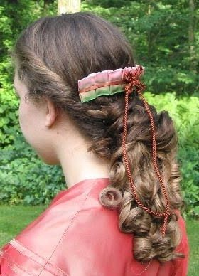 Adventures of a Costumer: Civil War Evening Hairstyles