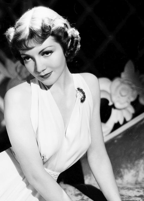 Claudette Colbert photographed by Eugene Robert Richee (1937)