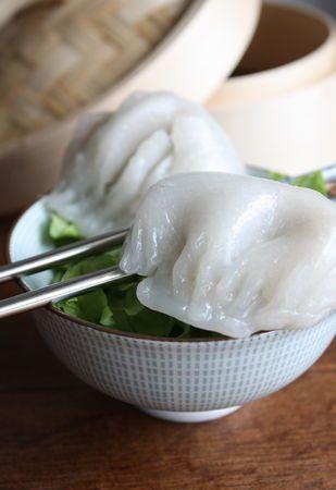 Ha Cao - Raviolis chinois à la vapeur (crevette)