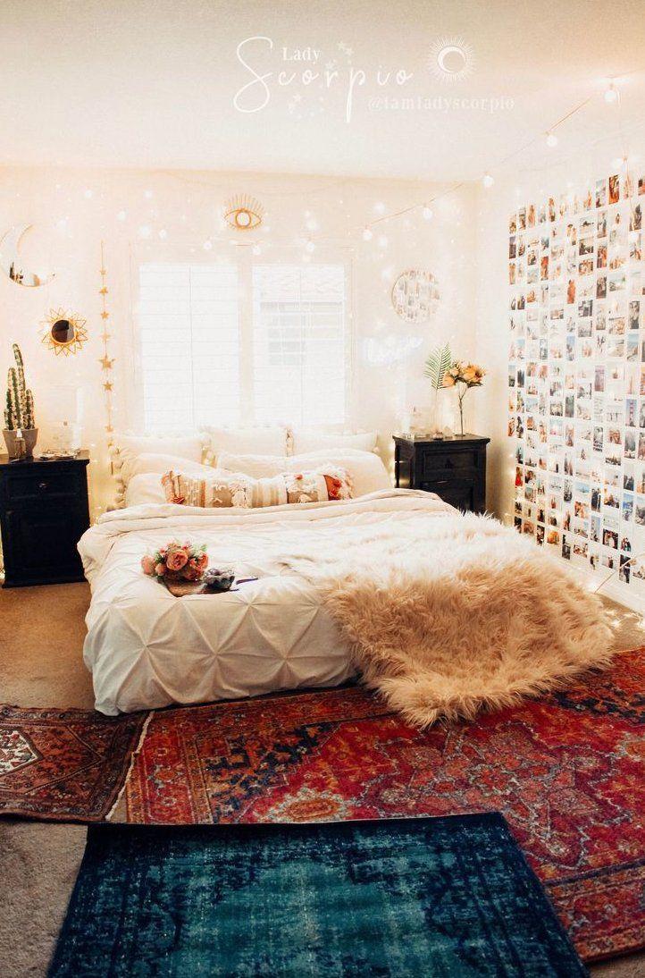 vsco room decor , décor de chambre vsco , #vscoroomdecor  Bedroom