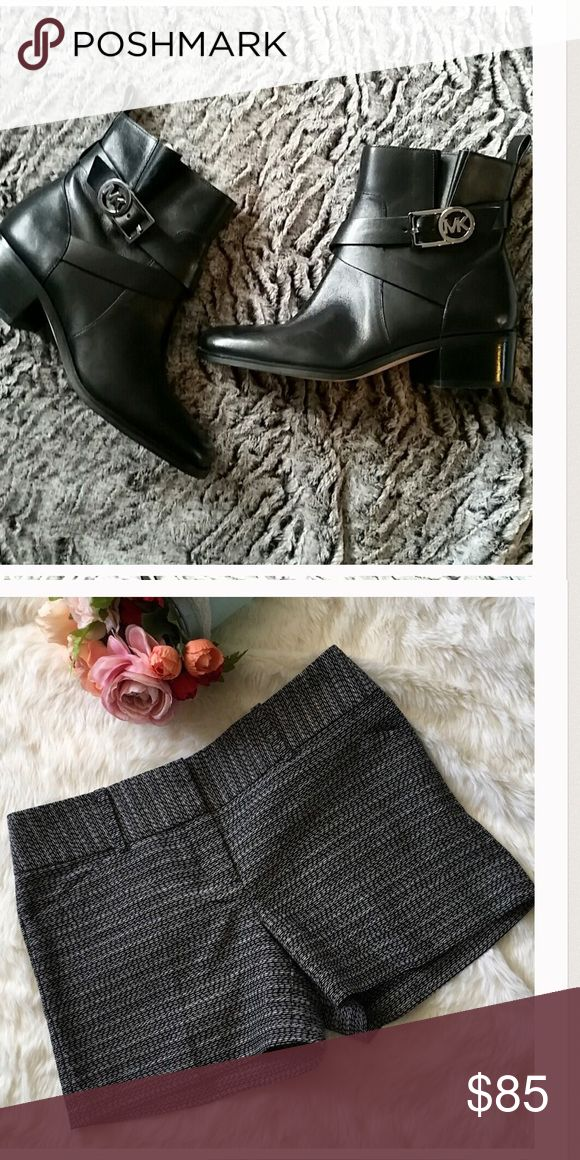Bundle for @ab46776 MK boots and Ann Taylor shorts for @ab46776 Shoes Ankle Boots & Booties