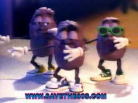 California Raisins 1986 tv commercial
