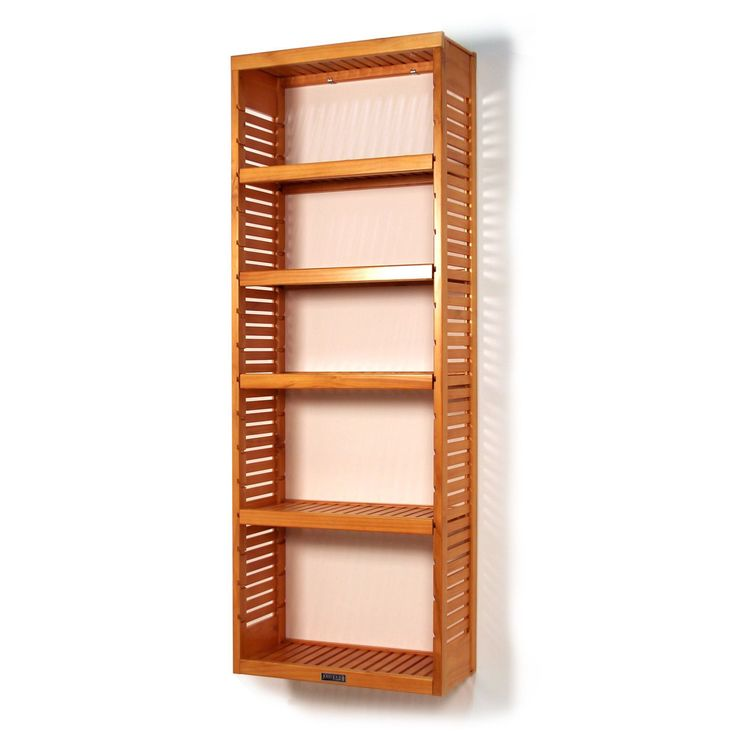 john louis home collection standalone tower shelf standards