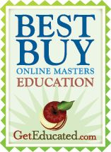 Check out Get Educated's list of the most affordable online degrees for a Masters in Education