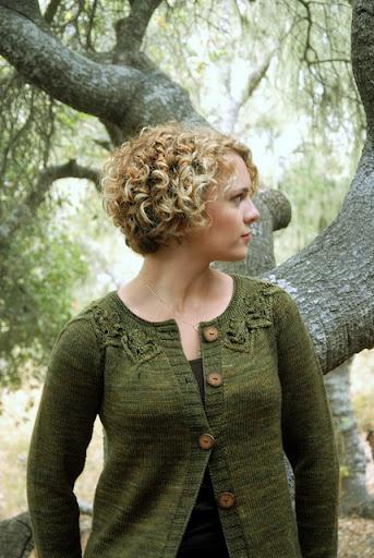 Gnarled Oak Cardigan by Alana Dakos - Елена А - Веб-альбомы Picasa