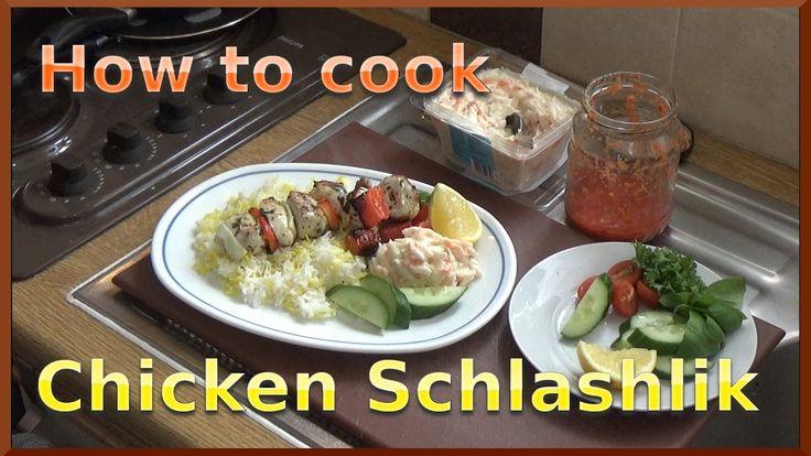How to Cook Chicken Shashlik Kebab