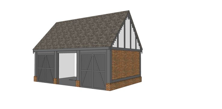 Garage proposal A - Ketteringham, Norfolk -  Image ll