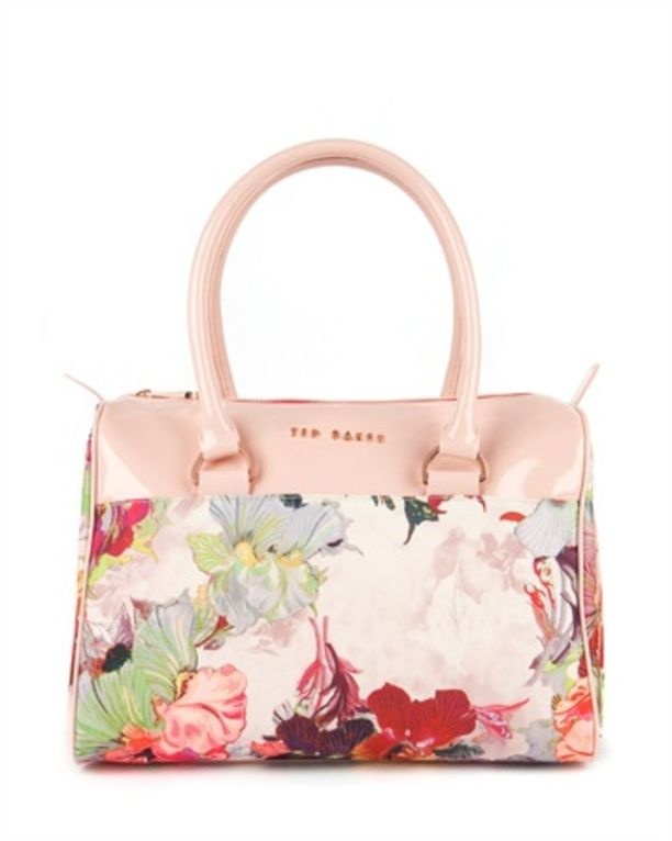 Treasured Orchid print bowler - SOTREA by Ted Baker........ Ted Baker bags are AMAZING!!!