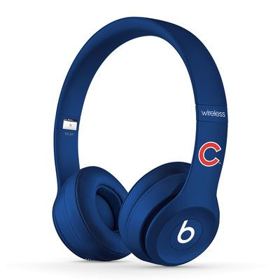 Chicago Cubs Beats Solo2 MLB Edition Wireless Headphones