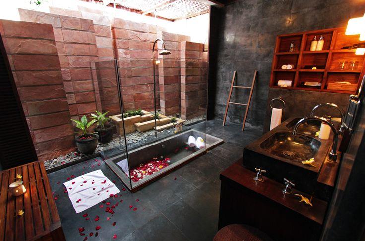Villa Samudra | 3 bedroom villa #bali #interior #bathroom #photo #architecture
