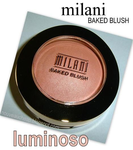 Milani Baked Blush in Luminoso: BELIEVE THE HYPE … universally flattering shade, warm luminous sheen.