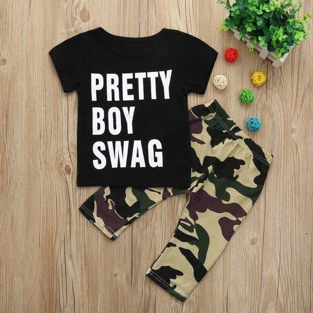 e94ea5f86 Pretty Boy Swag Baby Set