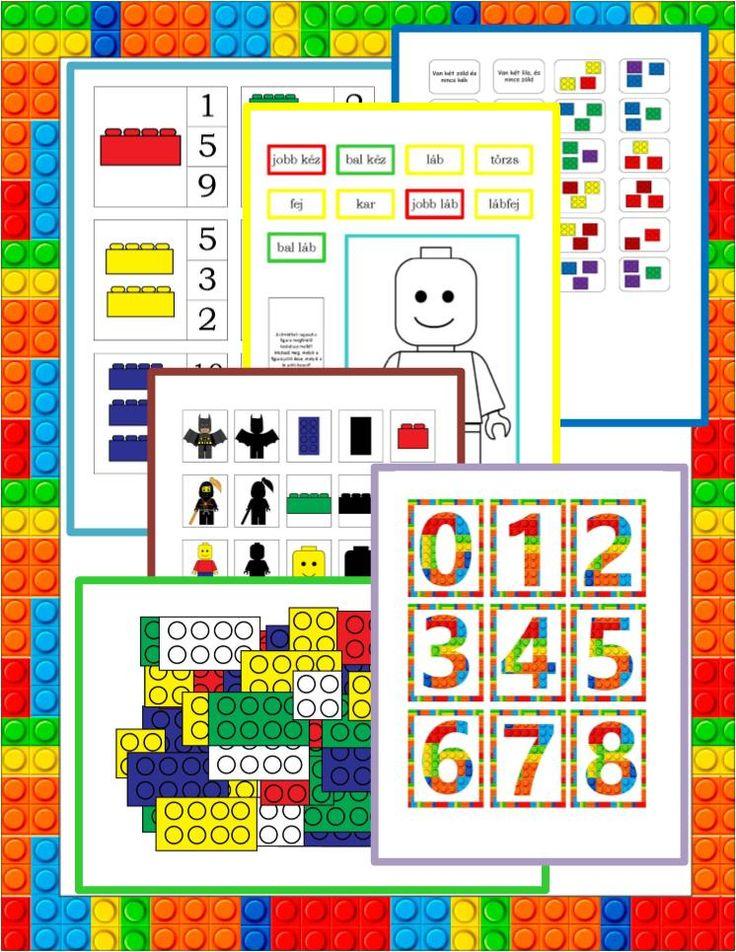 LEGO lapbook az 5-7 éves korosztály számára Gyereketető