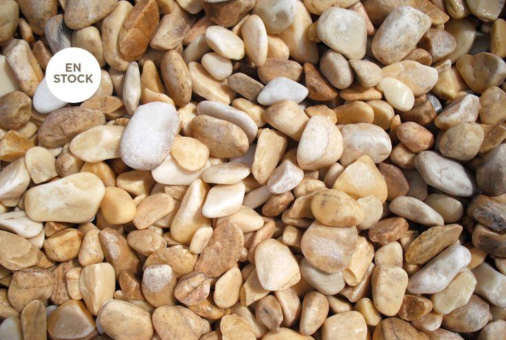 Gravier roulé jaune lemon 12/25 I Agrégats Occitans