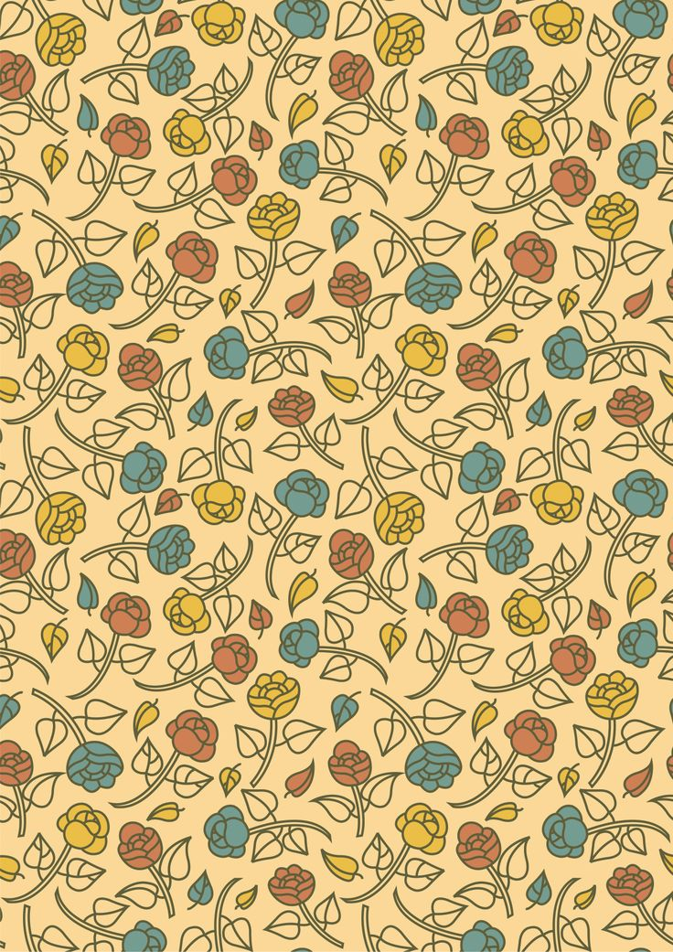 The pattern was inspired by the floral elements during the art nouveau age - Anna La Corte