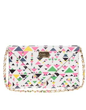 Paul's Boutique Aztec Kimberly Clutch Bag