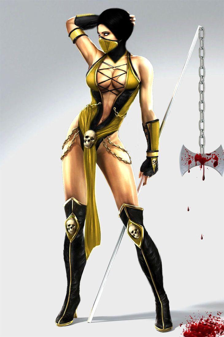 Image Result For Scorpion S Wife Mortal Kombat Jade Mortal