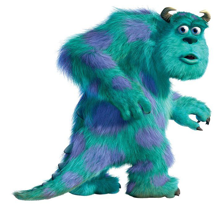 I love sully from monsters inc