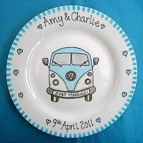 We love our new Camper Van plate!