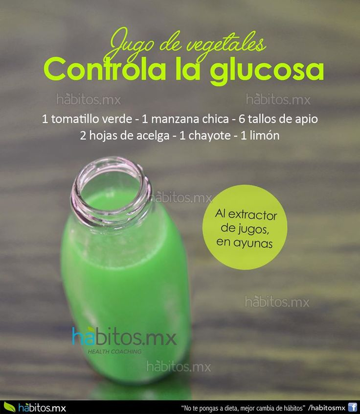Hábitos Health Coaching | JUGO DE VEGETALES PARA CONTROLAR LA GLUCOSA