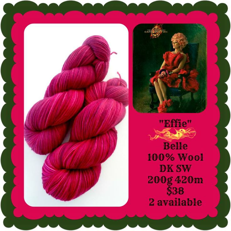 Effie - Hunger Games | Red Riding Hood Yarns