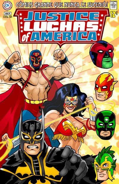 Lucha Liga Of Americas by EresLuchaLibreAmanda