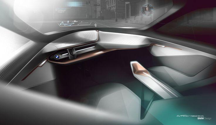 01-BMW-Vision-Next-100-Concept-Interior-Design-Sketch-Render-10 - gebrauchte küchen frankfurt