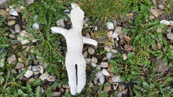 Handgemaakte popje pop voor helende rituelen, hexing spreuken, voodoo ritueel, hoodoo magie, sympathische magie, donkere maan magie, heidense rituele pop