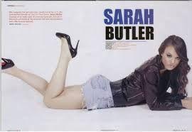 Sarah Butler in GoreZone magazine.