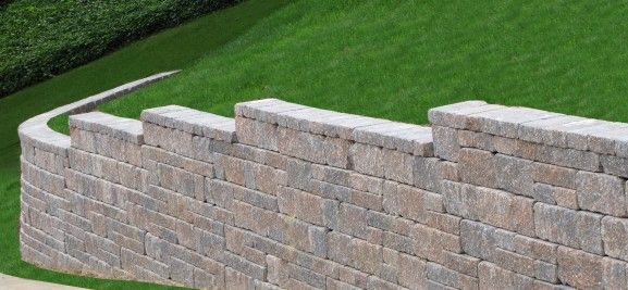 See Wall For Mobile Home Stone Wall Retaining Wall On