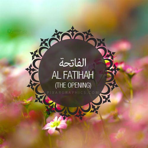 Al fatihah surah graphics