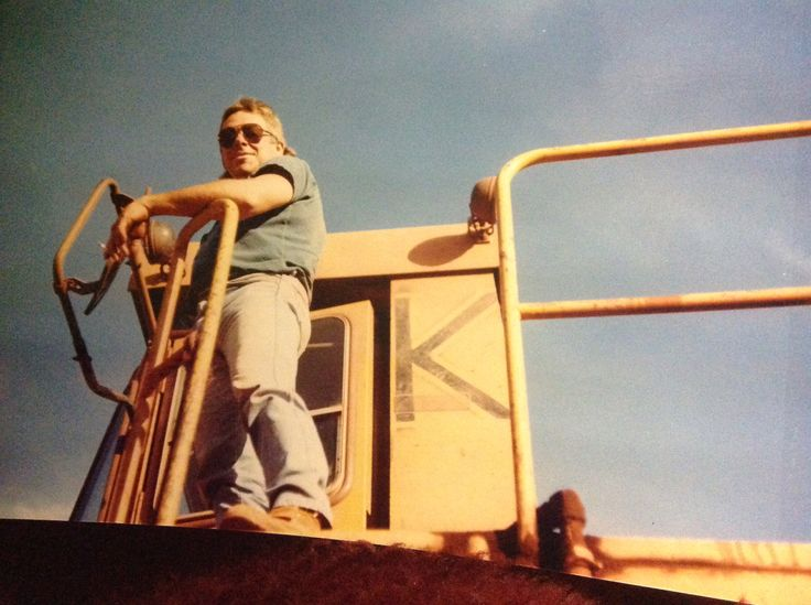 My Aussie hubby working in the Australian Iron Ore Mines #AustraliaDayOnboard