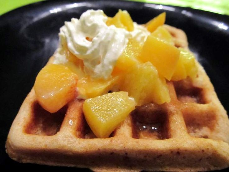 Waffles that originated from Europe is popular in many countries now. This is typically made from eggs and all purpose flour.