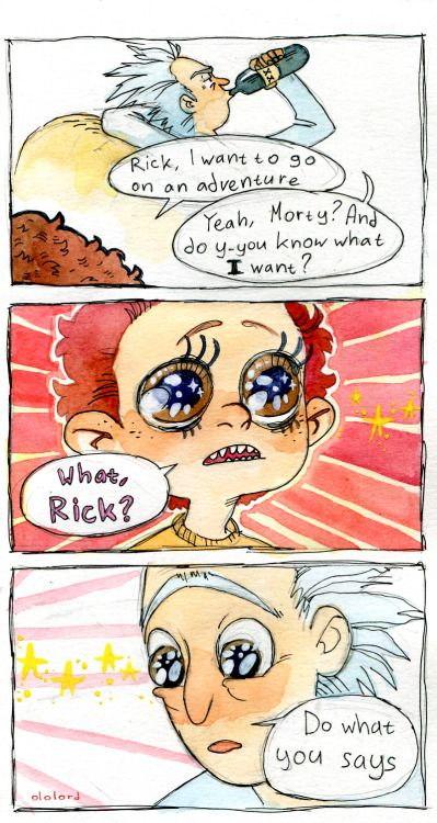 (ololord) Universes with Kawaii Eyes Morty were proven to be unstable and dangerous and were disqualified from Pocket Mortys for the sake of peace-keeping
