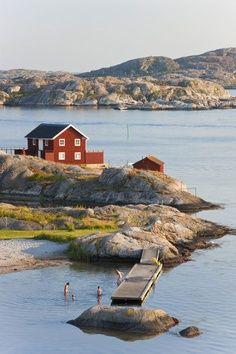 svenske skärgård