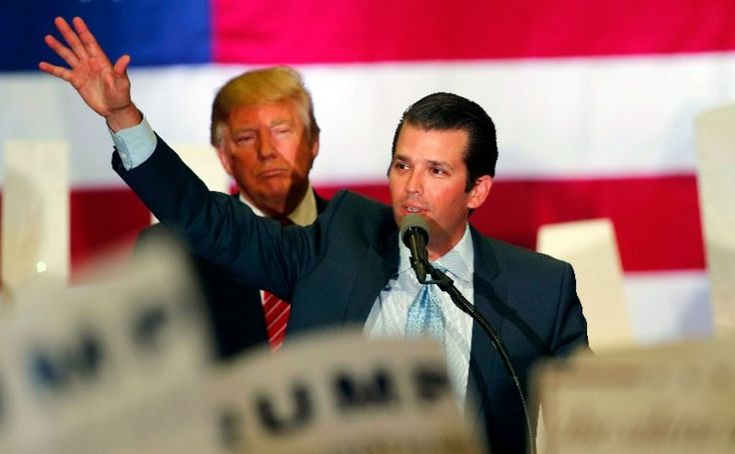 "Donald Trump Jr. Smears 63-Year-Old Bernie Sanders Supporter as ""Trump Nazi"""