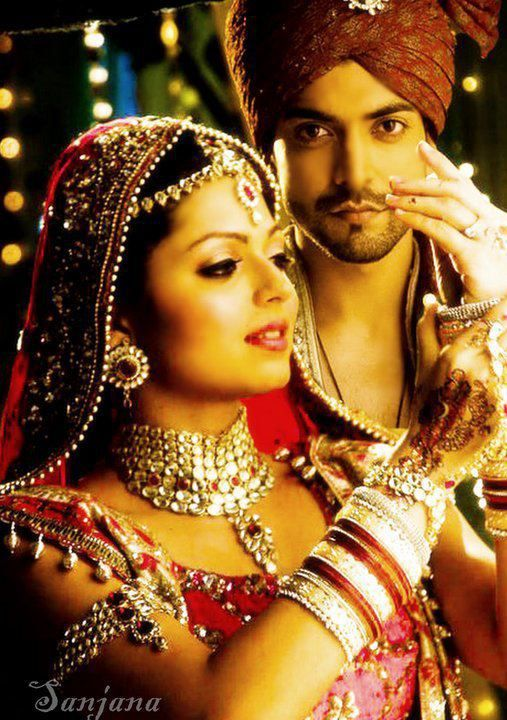 Geet and Maan: the perfect couple.