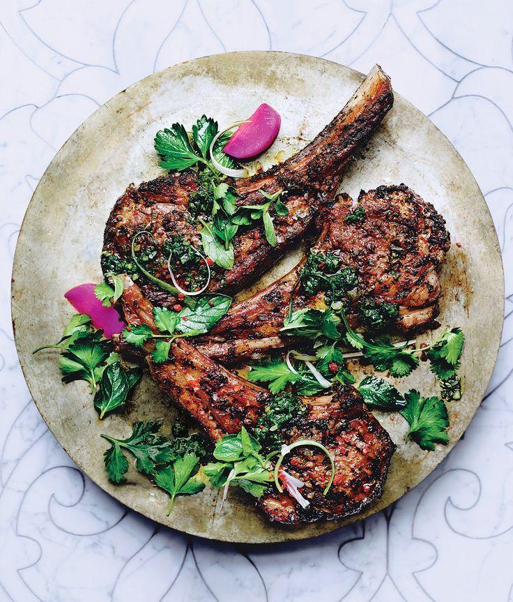 Mint and Cumin-Spiced Lamb Chops | Recipe | Alternative to ...