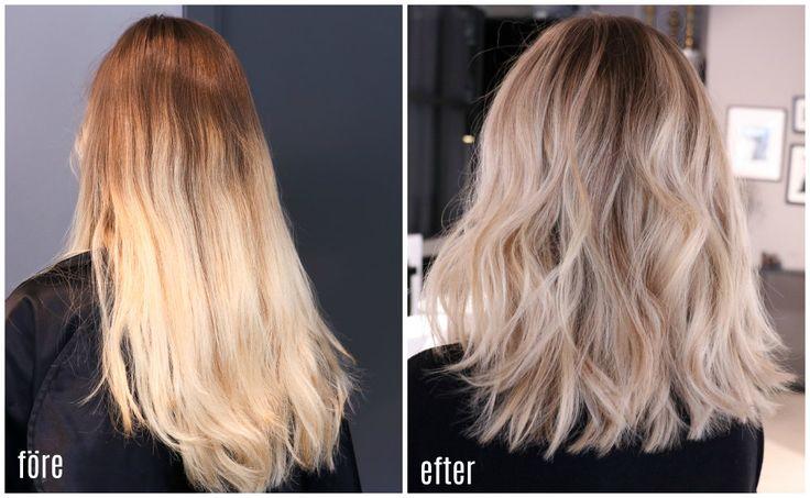 sommarrenovering, beige blont hår - Elin Johansson - Metro Mode