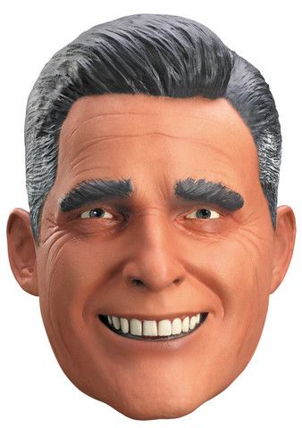 PRESIDENTIAL MIT ROMNEY VINYL HALLOWEEN MASK Latex Full Head Realistic Halloween Maverick MASK
