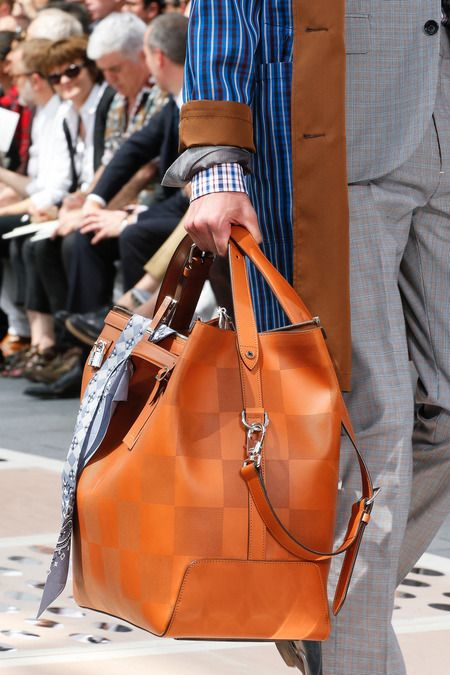 Louis Vuitton Spring/Summer Men's Bag Collection 2014 // this is sweet - maybe in black or grey