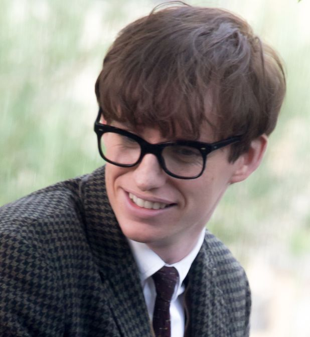 Actor in a leading role: Eddie Redmayne, The Theory of Everything (dir. James Marsh)