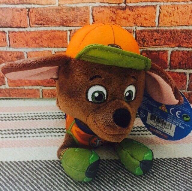 Paw Patrol Jungle Rescue 8 Plush Zuma Toy Stuffed Animal